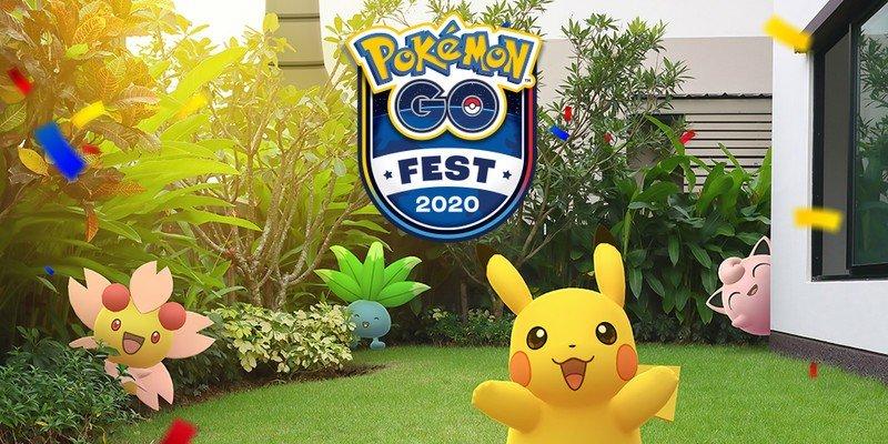 Niantic announces fully-virtual Pokémon GO Fest, July 25-26