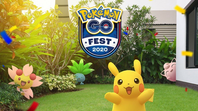 Niantic's Pokémon Go Fest Lounge is a virtual space to hang out