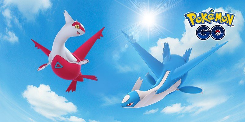 Pokémon Go is bringing back Latias and Latios this weekend