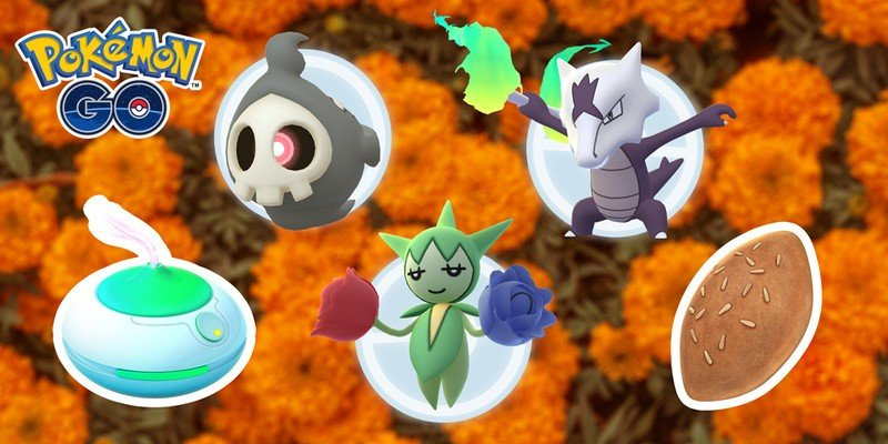 Niantic will be celebrating Dia de Muertos in Pokémon Go this year